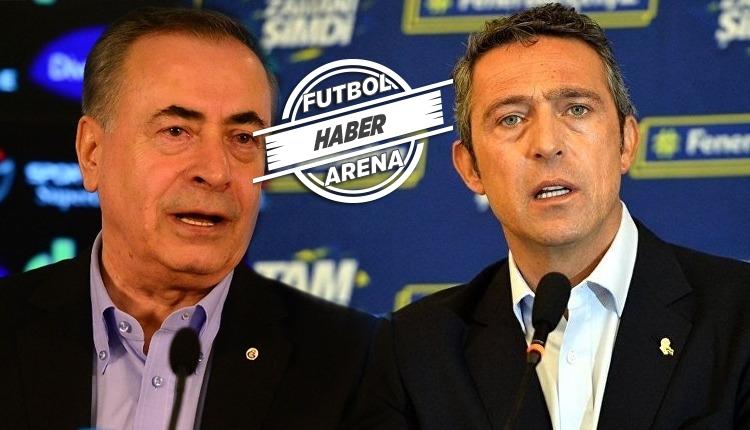 Fenerbahçe ve Galatasaray'ın savaşı: