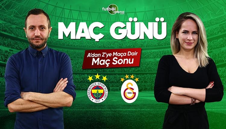 Fenerbahçe - Galatasaray maç özeti ve golleri | CANLI
