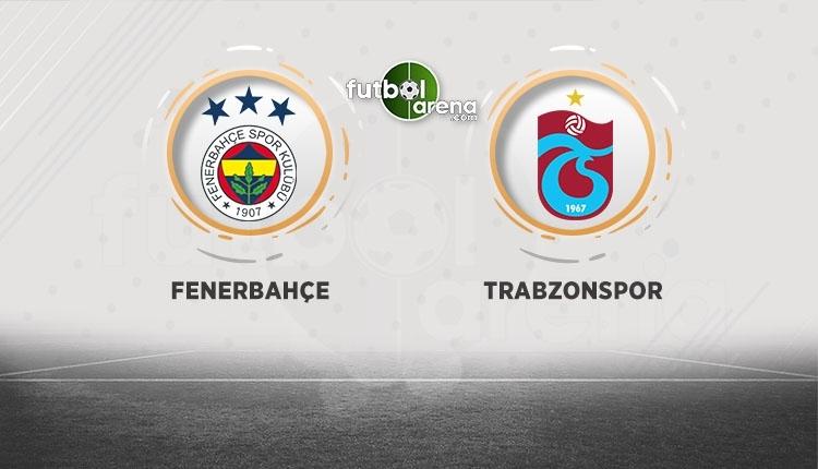 Fenerbahçe - Trabzonspor canlı izle, Fenerbahçe - Trabzonspor şifresiz İZLE (Fenerbahçe - Trabzonspor beIN Sports canlı ve şifresiz İZLE)