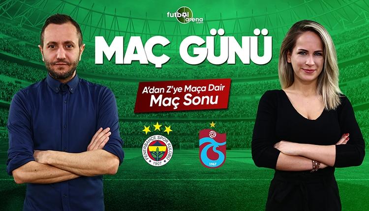 Fenerbahçe - Trabzonspor maç özeti | CANLI
