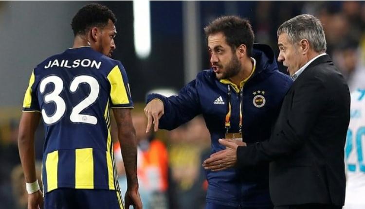 Fenerbahçe'de Jailson, Ersun Yanal'a isyan etti