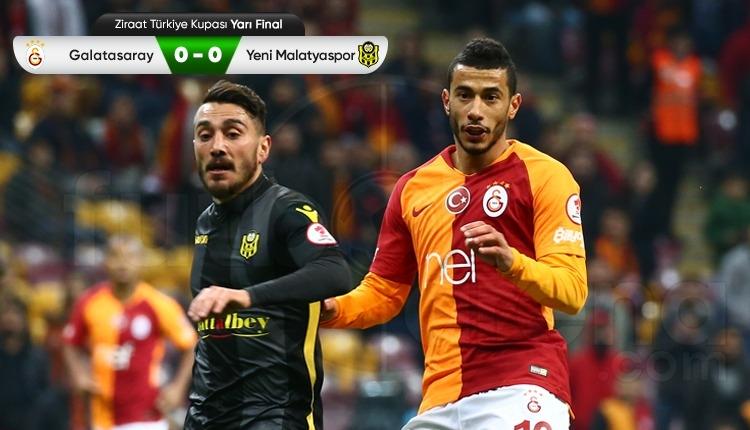Galatasaray 0-0 Yeni Malatyaspor maç özeti (İZLE)