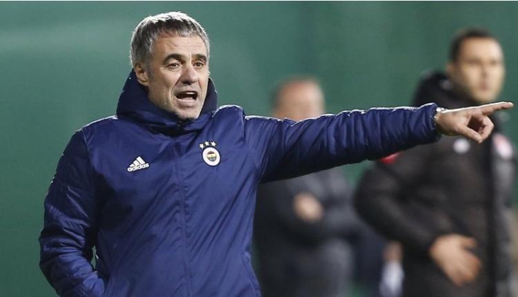 Galatasaray derbisi öncesinde Ersun Yanal krizi (FB Haberleri)