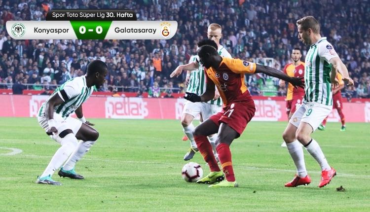 Galatasaray, Konya deplasmanında büyük fırsat tepti (İZLE)