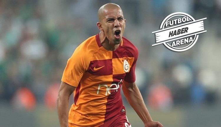 Galatasaray'da Fatih Terim'den Feghouli talimatı