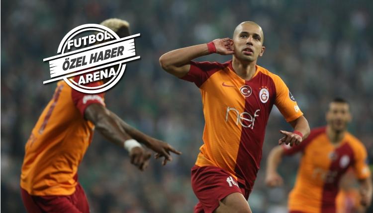 Galatasaray'da Sofiane Feghouli'den transfer kararı