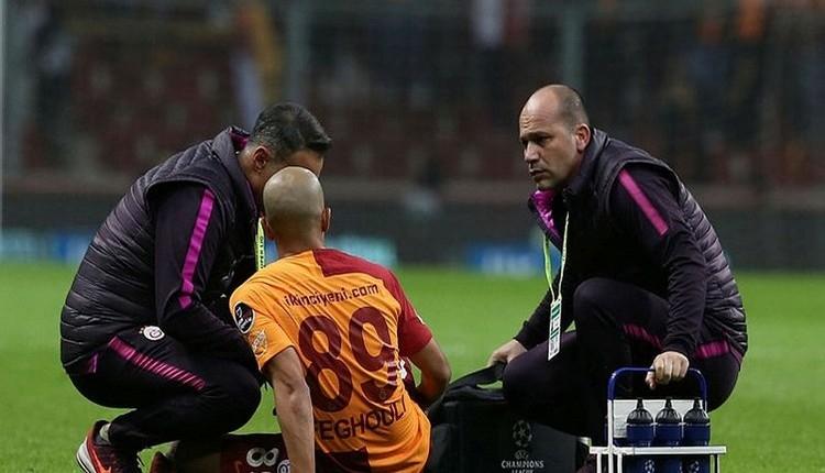 Galatasaray'dan sakatlık açıklaması! Feghouli ve Semih Kaya