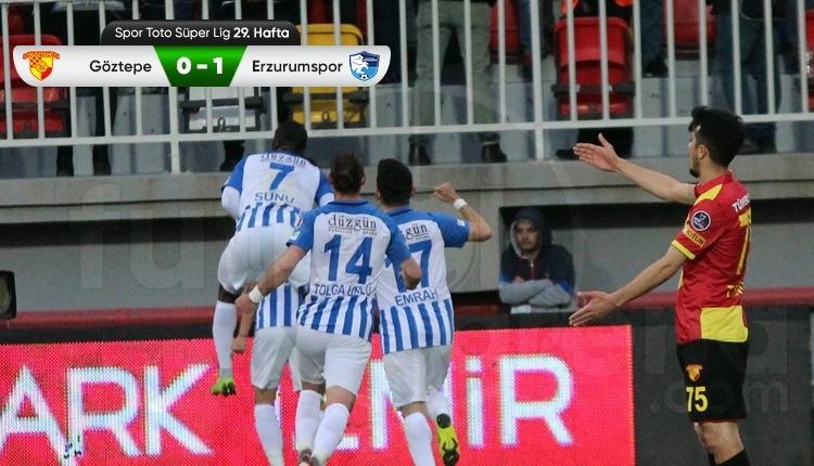 Göztepe 0-1 BB Erzurumspormaç özeti ve golü (İZLE)