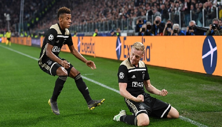 Juventus 1-2 Ajax maç özeti ve golleri İZLE