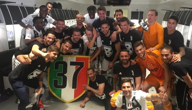 Juventus şampiyonluğunu ilan etti! Cristiano Ronaldo rekor kırdı