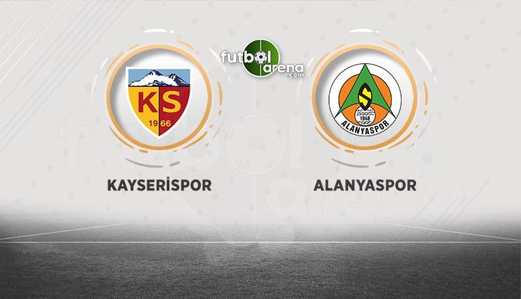 Kayserispor - Alanyaspor maçı canlı izle (beIN Sports canlı, şifresiz izle)