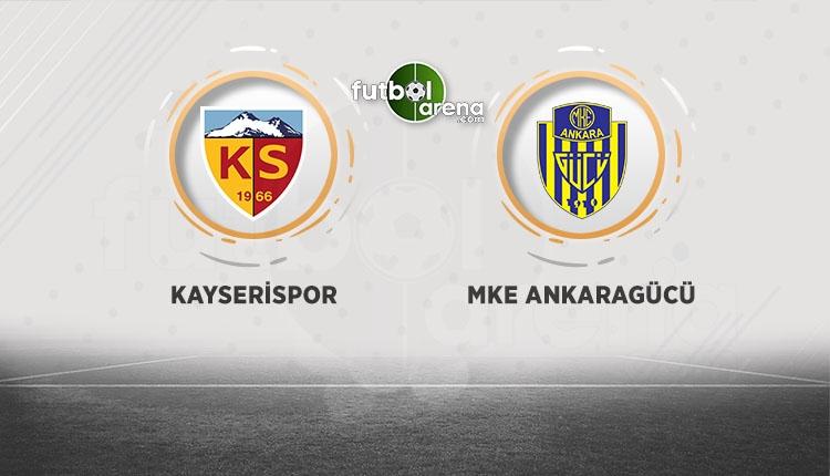 Kayserispor Ankaragücü canlı şifresiz İZLE (Kayserispor Ankaragücü beIN Sports yayın)