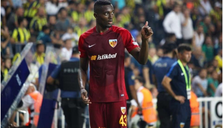 Kayserisporlu Mensah'tan Beşiktaş transferi açıklaması