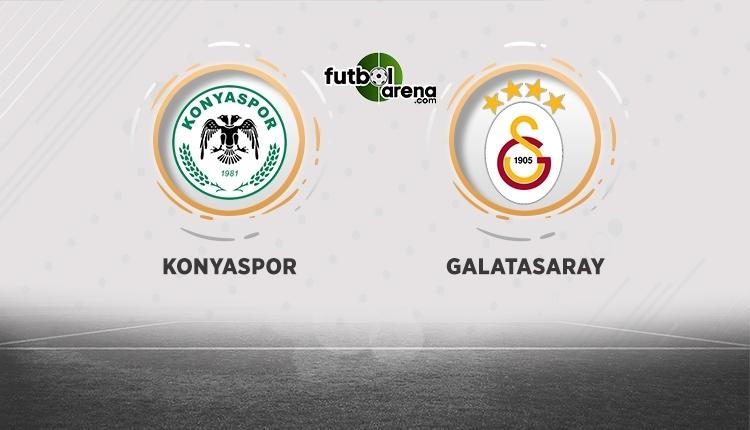 Konyaspor - Galatasaray canlı izle, Konyaspor - Galatasaray şifresiz izle (Konyaspor - Galatasaray beIN Sports canlı ve şifresiz İZLE)