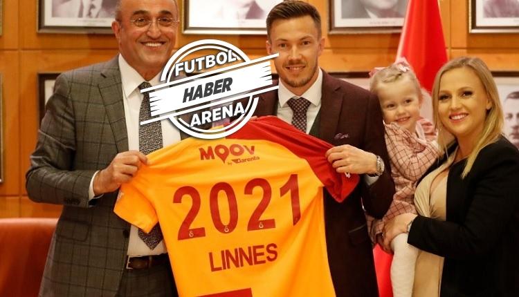 Linnes 2021'e kadar Galatasaray'da! Yeni sözleşme ve maaşı