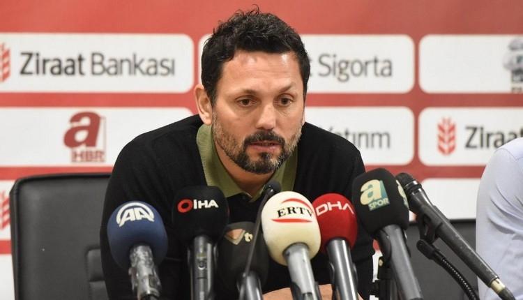 Malatyaspor'da Erol Bulut istifa etti! Yönetimin kararı