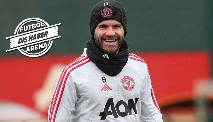 Manchester United'dan Fenerbahçe'ye Juan Mata müjdesi