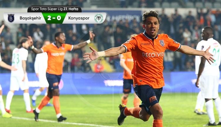 Medipol Başakşehir 2-0 Atiker Konyaspor maç özeti ve golleri (İZLE)
