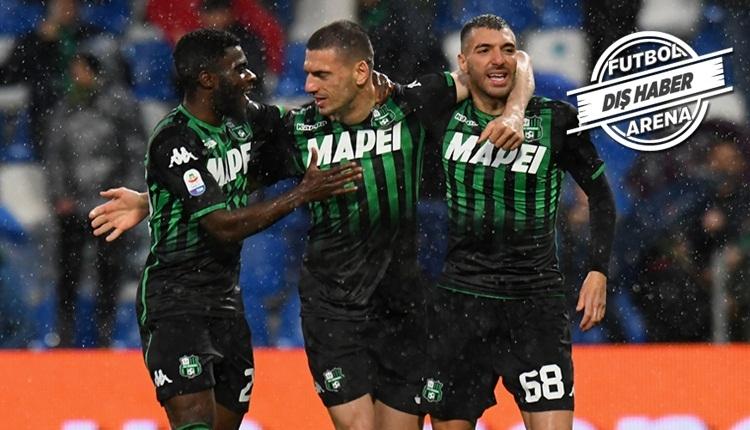 Merih Demiral, Sassuolo formasıyla ilk gollerini attı (İZLE)