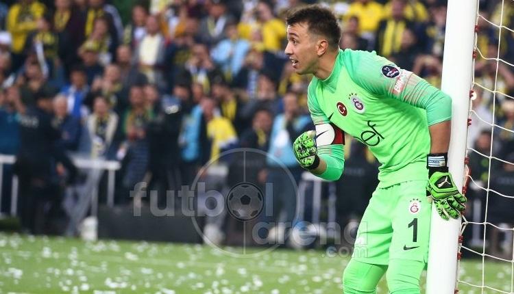 Muslera: 'Fenerbahçe'nin tek pozisyonu gol oldu'