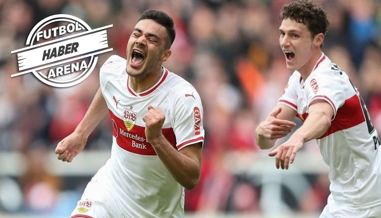 Ozan Kabak'ınStuttgart - Nürnberg maçında attığı gol