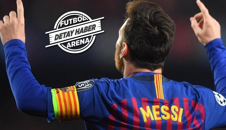 Şampiyonlar Ligi'nde Messi'nin gecesi! Bu sezon rakibi yok