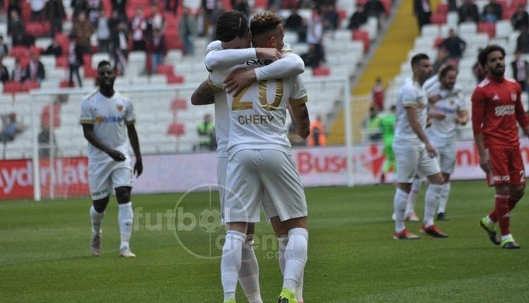 Sivasspor 1-3 Kayserispor maç özeti ve golleri (İZLE)