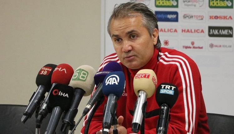 Sivasspor hocasından hakem Mete Kalkavan'a tepki