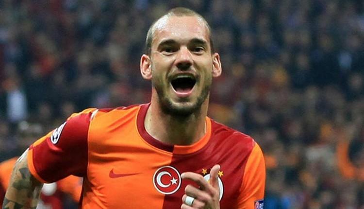 Sneijder'den Kadıköy itirafı! 'Sahaya çıktığımda'