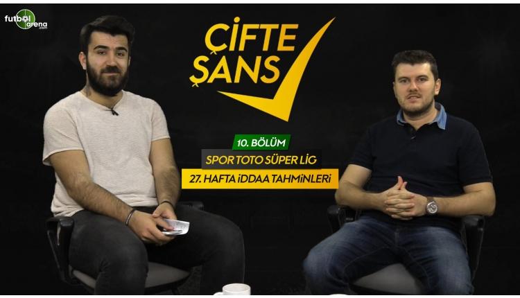 Süper Lig'de 27. hafta İddaa tahminleri (İddaa kuponu - Çifte Şans)