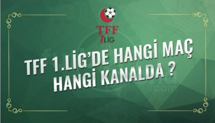 TFF 1. Lig maçları ve puan durumu (TFF 1. Lig canlı İZLE)