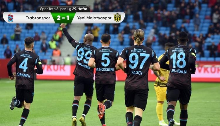 Trabzonspor 2-1 Yeni Malatyaspor maç özeti ve golleri (İZLE)