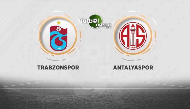 Trabzonspor sahasında Antalyaspor'u ağırlayacak