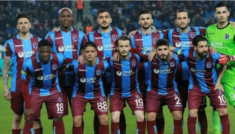 Trabzonspor'un Bursaspor maçı kadrosu açıklandı