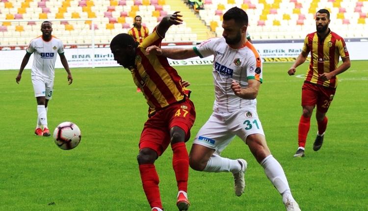 Yeni Malatyaspor 1-1 Aytemiz Alanyaspor maç özeti ve golleri (İZLE)