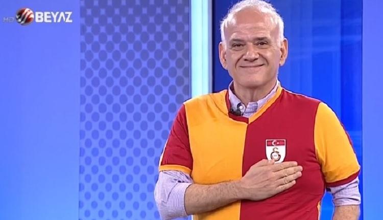 Ahmet Çakar Galatasaray forması giydi: