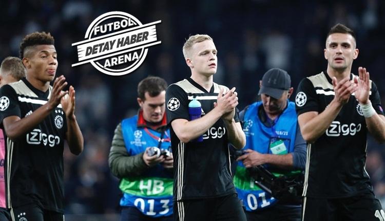 Ajax Şampiyonlar Ligi'nde yine tarih yazdı