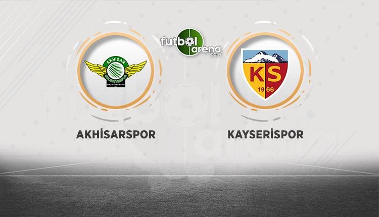 Akhisar Kayserispor canlı şifresiz İZLE (Akhisar Kayserispor bEIN Sports canlı yayın)