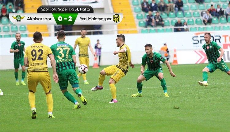 Akhisarspor 0-2 Yeni Malatyaspor maç özeti ve golleri (İZLE)