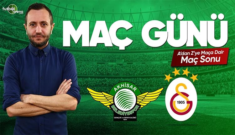 Akhisarspor - Galatasaray maç özeti ve golleri | CANLI
