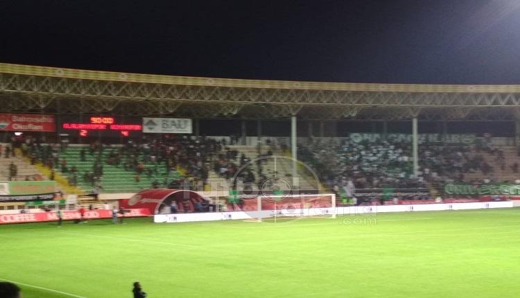 Alanyaspor - Konyaspor taraftarları arasında olay