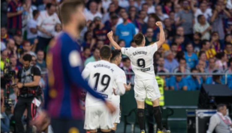 Barcelona 1-2 Valencia maç özeti ve golleri (İZLE)
