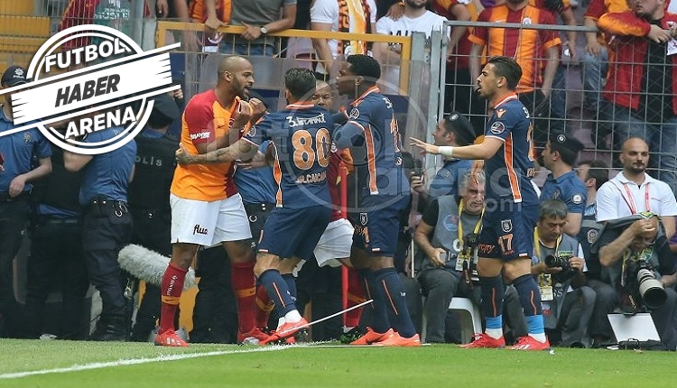 Başakşehir'de Bajic'in Galatasaray'a golünden sonra olaylar