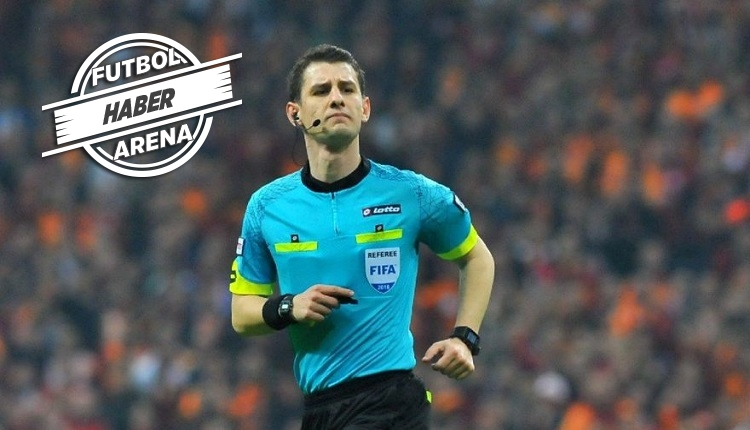 Başakşehir'in maçına olay hakem Halil Umut Meler atandı