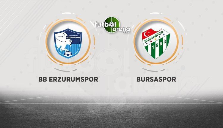 BB Erzurumspor Bursaspor canlı ve şifresiz izle (BB Erzurumspor - Bursaspor beIN Sports İZLE)
