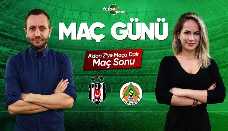 Beşiktaş - Alanyaspor maç özeti ve golleri | CANLI