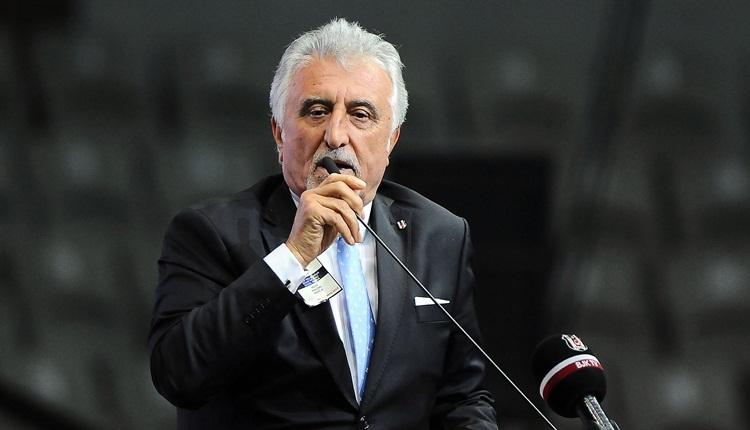 Beşiktaş genel kurulunda olay! 'Sana kafa atarım'