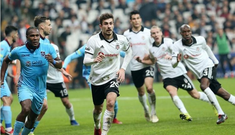 Trabzonspor - Beşiktaş maçının ilk 11'leri açıklandı