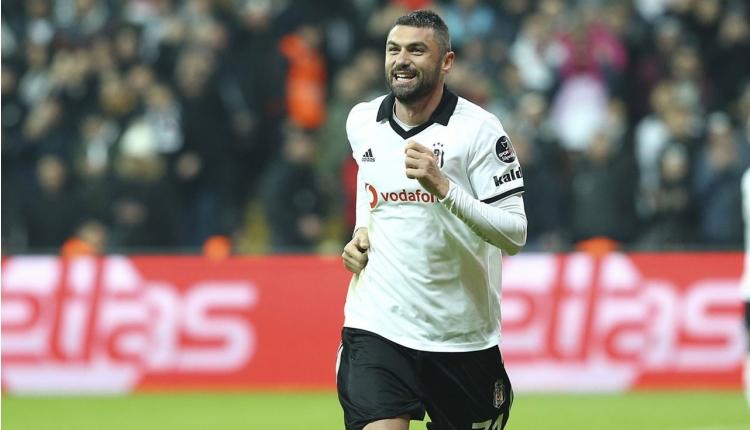 Beşiktaş'ta Burak Yılmaz'dan Adriano'ya veda