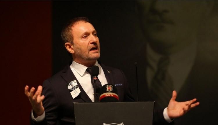 Beşiktaş'ta Hürser Tekinoktay adaylığını açıkladı